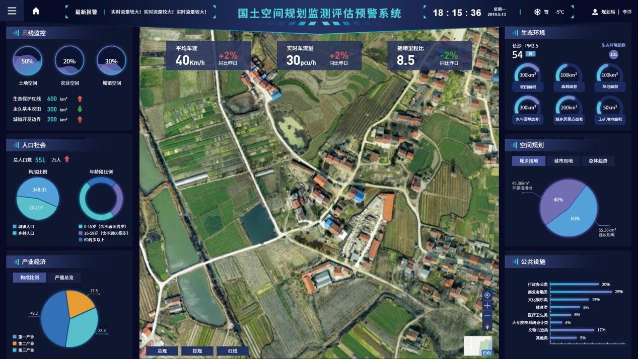 国土空间规划一张图实施监督系统
